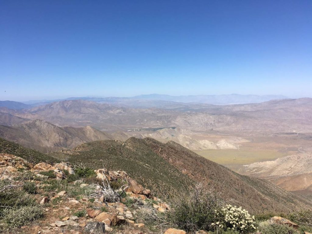 Fotografie der Landschaft der Mojave-Wüste in Kalifornien