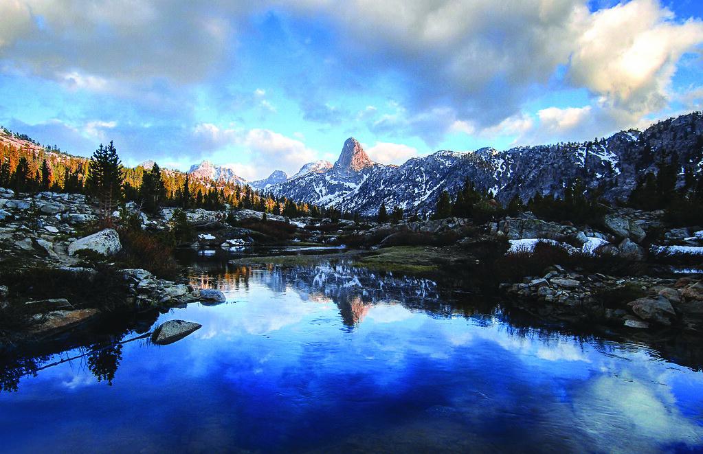 Foto von den Sierras
